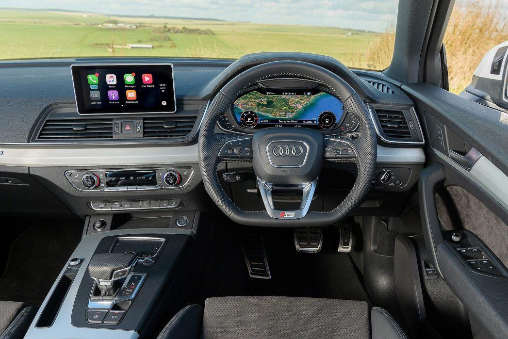 Image 3: Audi Q5 Diesel Estate 40 TDI Quattro Black Edition 5dr S Tronic