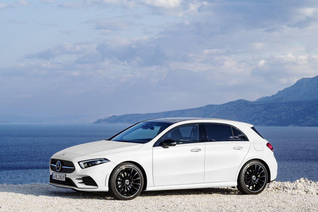 Image 1: Mercedes-Benz A Class Diesel Hatchback A220d AMG Line Executive 5dr Auto