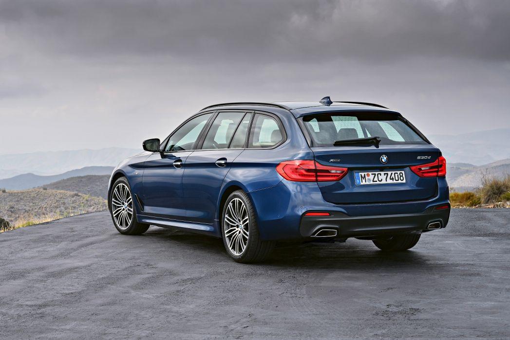 Image 2: BMW 5 Series Touring 520I M Sport 5dr Auto