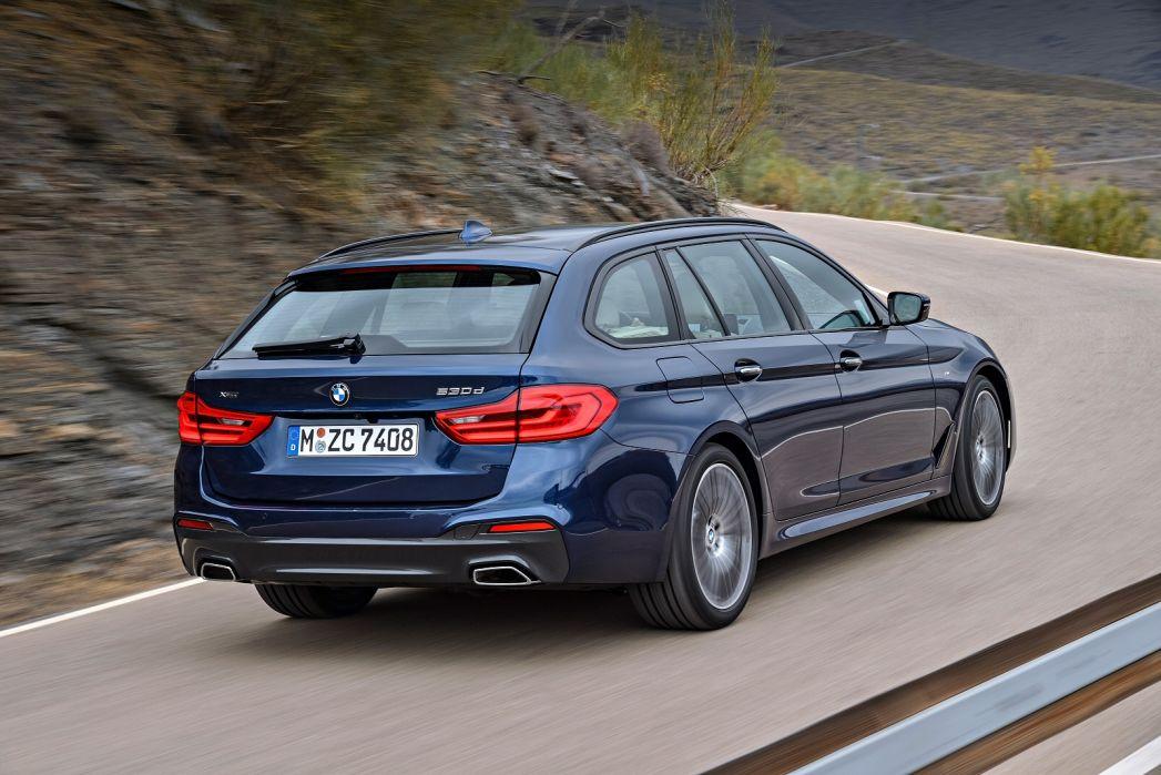 Image 6: BMW 5 Series Touring 520I M Sport 5dr Auto