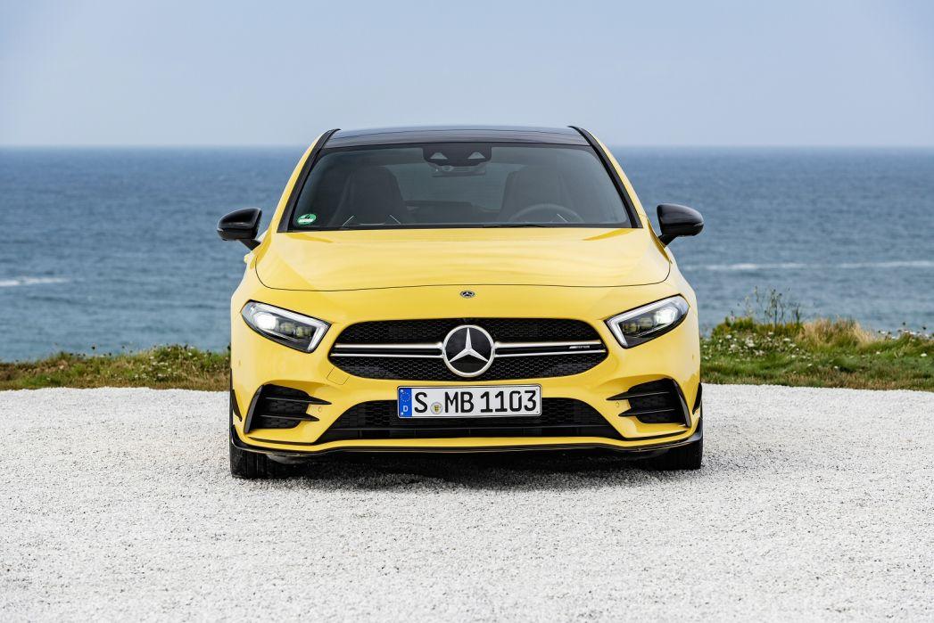 Image 3: Mercedes-Benz A Class AMG Hatchback A35 4matic Premium Plus 5dr Auto