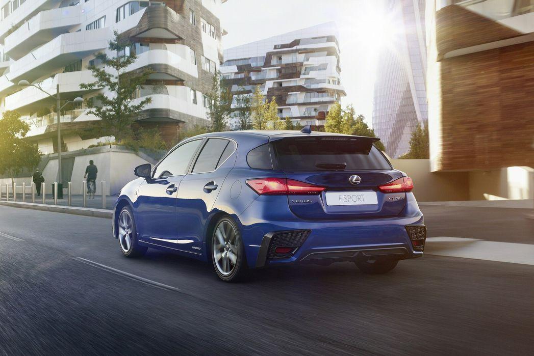 Image 3: Lexus CT Hatchback 200H 1.8 5dr CVT [sport Pack]