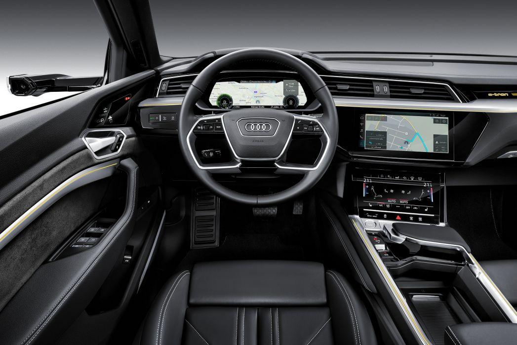 Image 6: Audi E-Tron Estate Special Editions 300KW 55 Quattro 95KWH Launch Edition 5dr Auto
