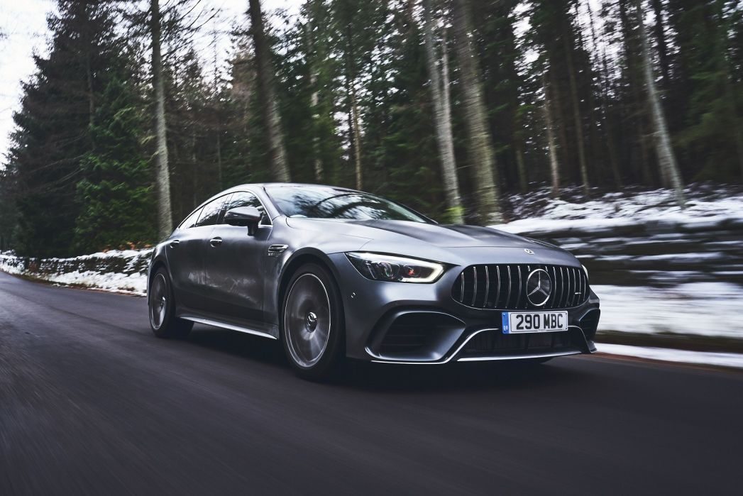 Image 3: Mercedes-Benz AMG GT Coupe GT 63 S 4matic + 4dr Auto