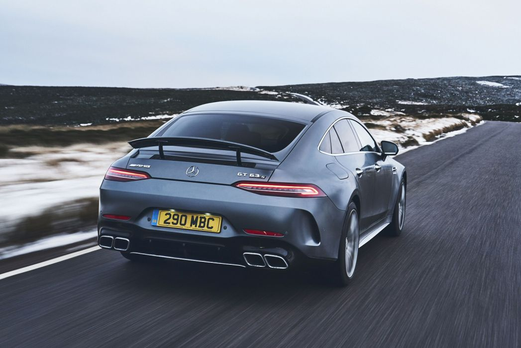 Image 5: Mercedes-Benz AMG GT Coupe GT 63 S 4matic + 4dr Auto