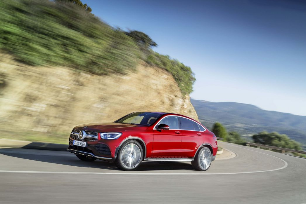 Image 6: Mercedes-Benz GLC Diesel Coupe GLC 300D 4matic AMG Line Premium 5dr 9G-Tronic