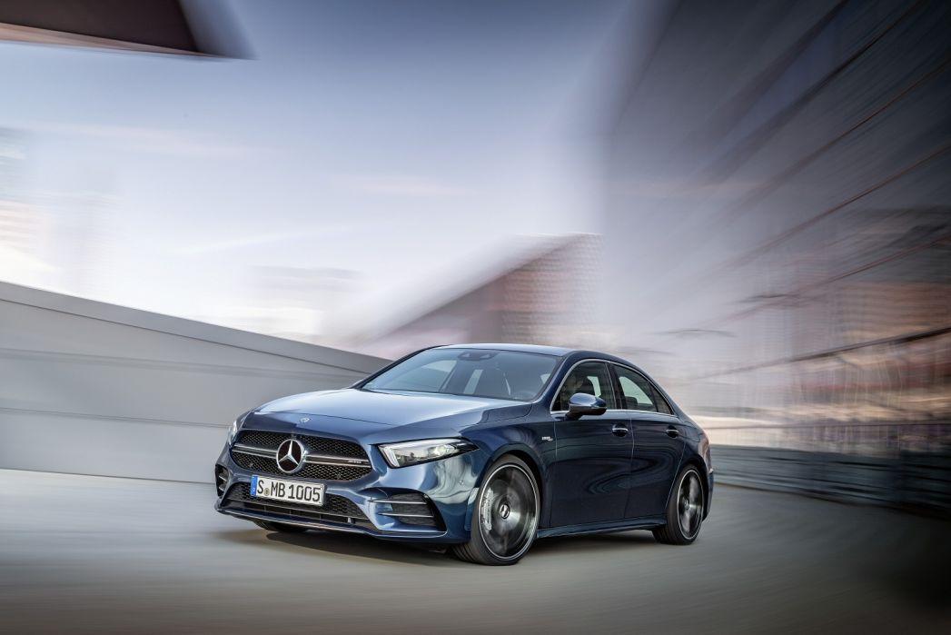 Image 3: Mercedes-Benz A Class AMG Saloon A35 4matic Premium Plus 4dr Auto