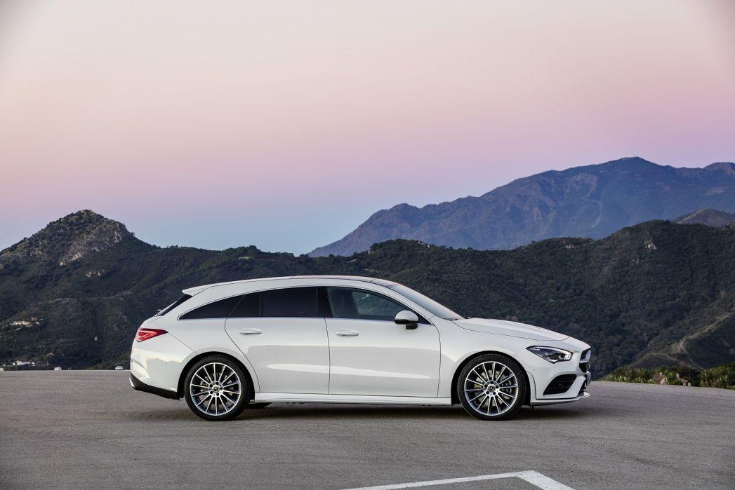 Image 1: Mercedes-Benz CLA Shooting Brake CLA 180 AMG Line Premium Plus 5dr TIP Auto