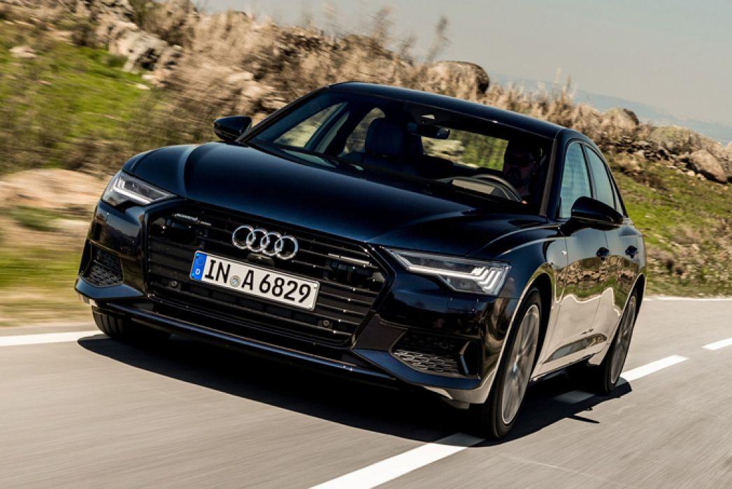 Image 2: Audi A6 Saloon 45 Tfsi Quattro Black Edition 4dr S Tronic