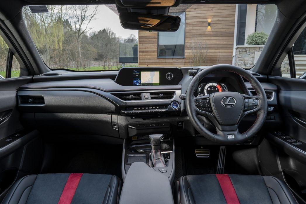 Image 3: Lexus UX Hatchback 250H 2.0 5dr CVT [premium Pack/NAV]