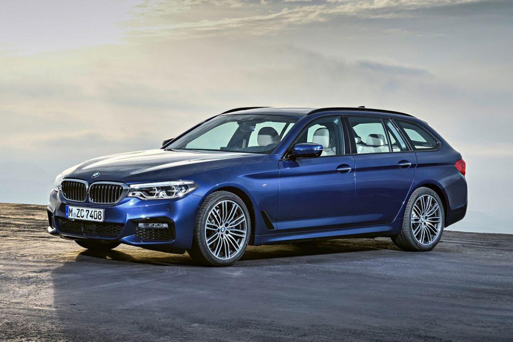 Video Review: BMW 5 Series Diesel Touring 520D MHT M Sport 5dr Auto