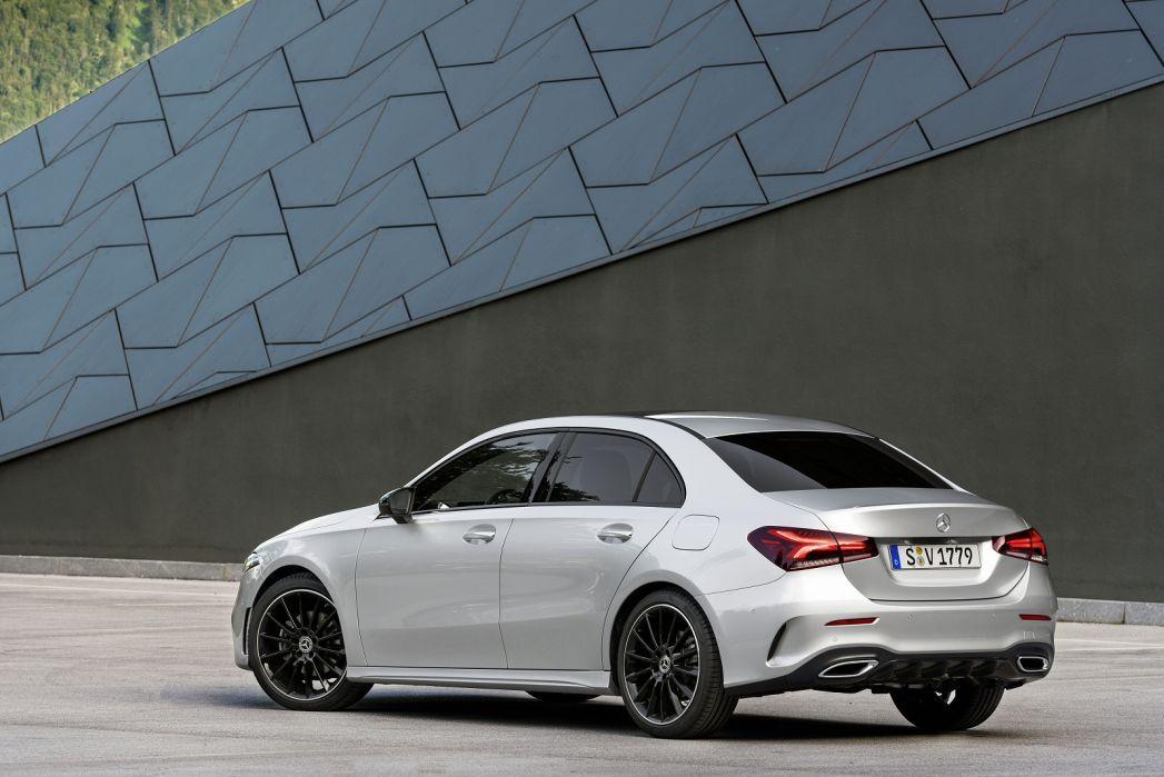 Image 2: Mercedes-Benz A Class Diesel Saloon A220d AMG Line Premium Plus 4dr Auto