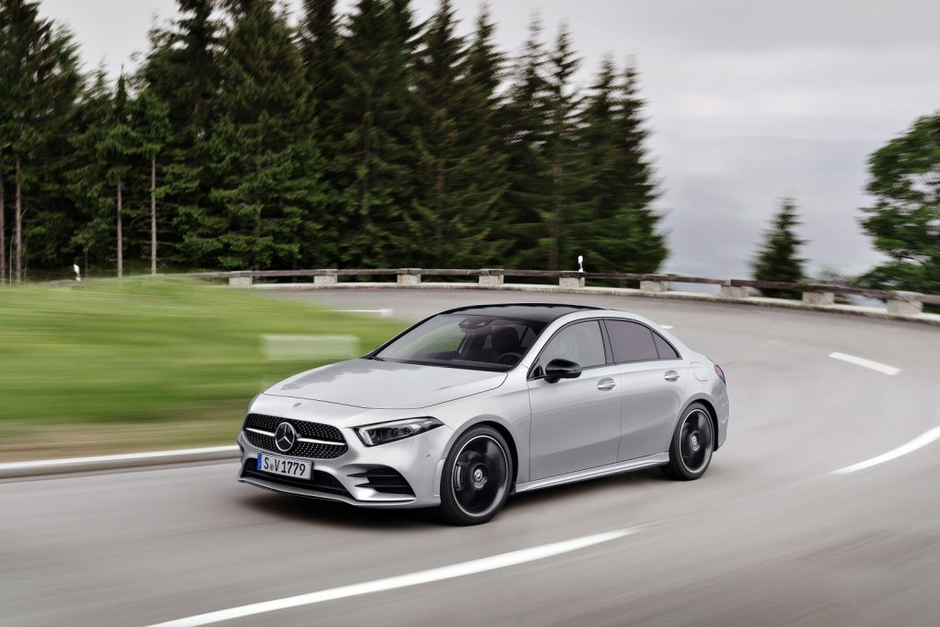 Image 3: Mercedes-Benz A Class Diesel Saloon A220d AMG Line Premium Plus 4dr Auto