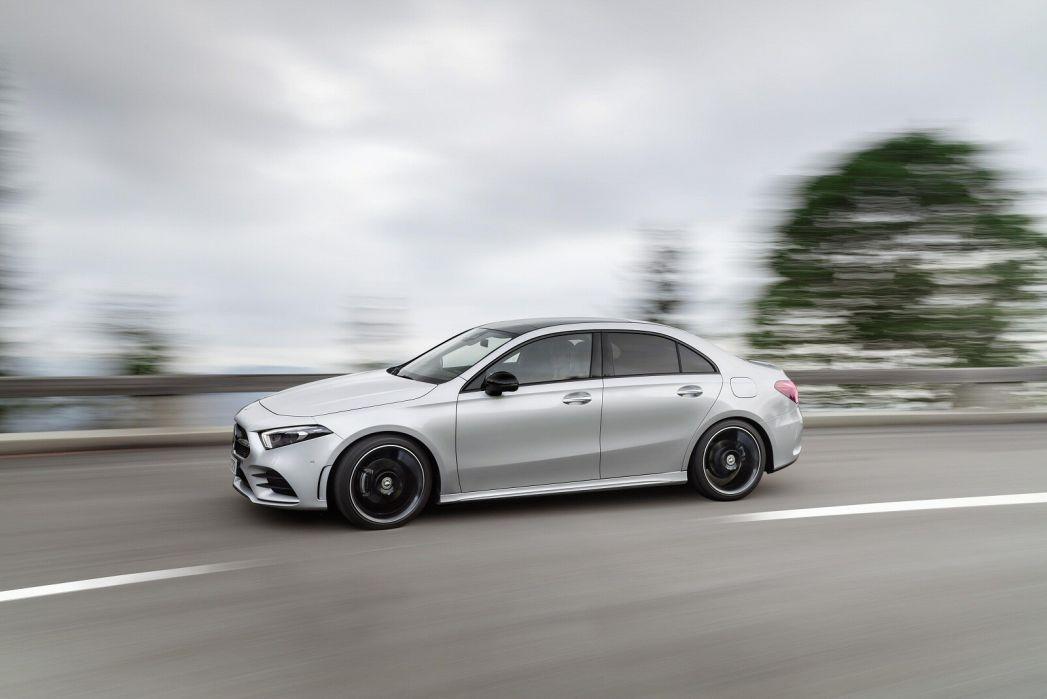 Image 4: Mercedes-Benz A Class Diesel Saloon A220d AMG Line Premium Plus 4dr Auto