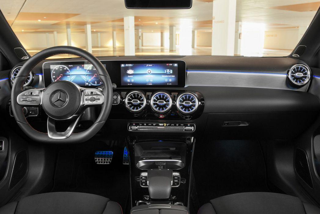 Image 4: Mercedes-Benz A Class Saloon A250e AMG Line 4dr Auto