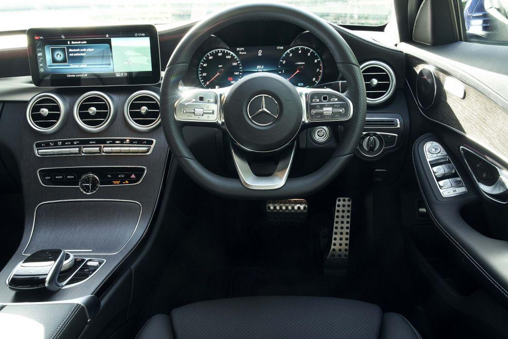 Image 2: Mercedes-Benz C Class Diesel Saloon C220d AMG Line Edition 4dr 9G-Tronic
