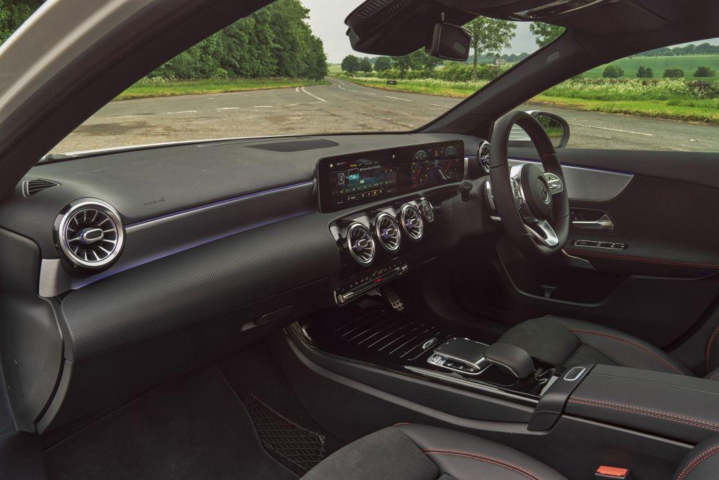 Image 3: Mercedes-Benz A Class Hatchback A250e AMG Line 5dr Auto