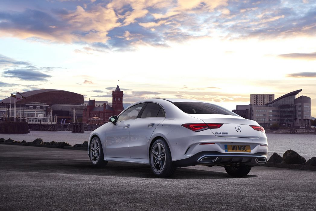 Image 2: Mercedes-Benz CLA AMG Coupe CLA 45 S 4matic+ 4dr TIP Auto