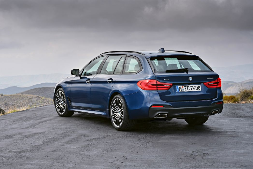Video Review: BMW 5 Series Touring 530I M Sport 5dr Auto [plus Pack]