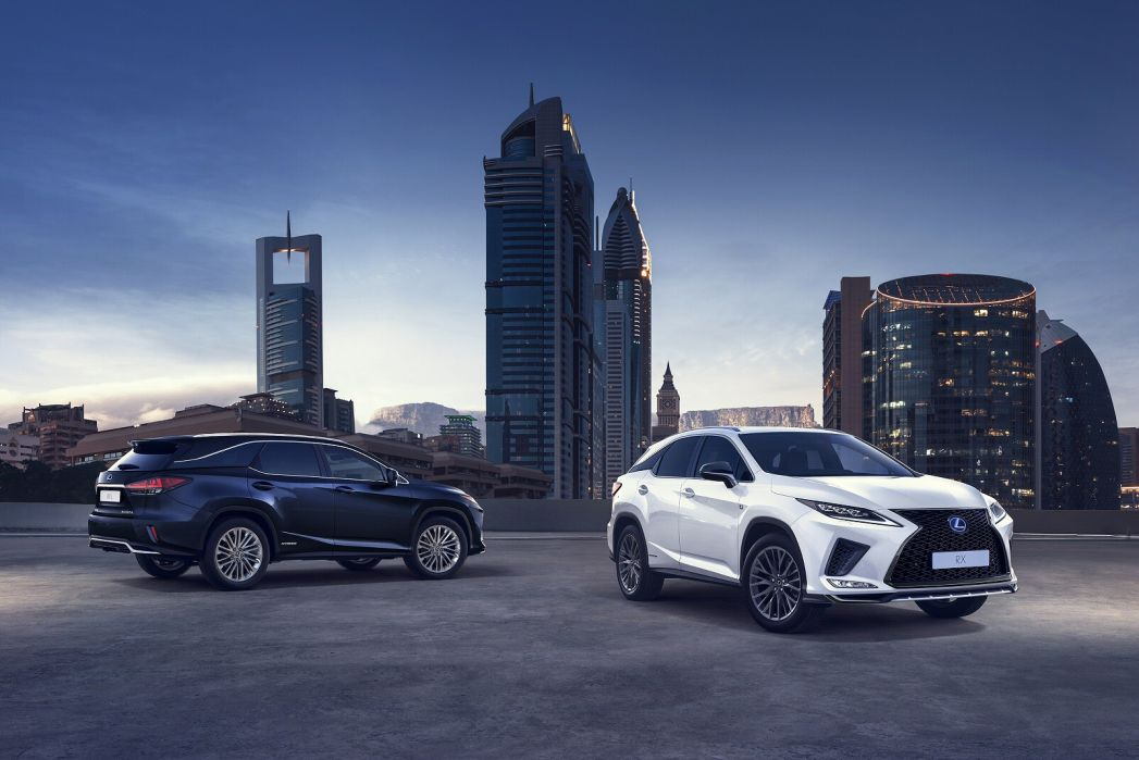 Image 5: Lexus RX Estate 450H 3.5 F-Sport 5dr CVT [premium +tech/safety PK]