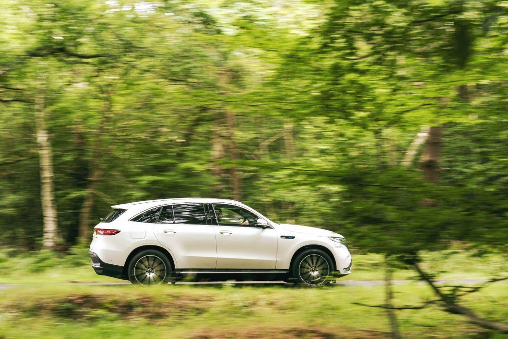 Image 5: Mercedes-Benz EQC Estate EQC 400 300KW AMG Line Premium Plus 80KWH 5dr Auto