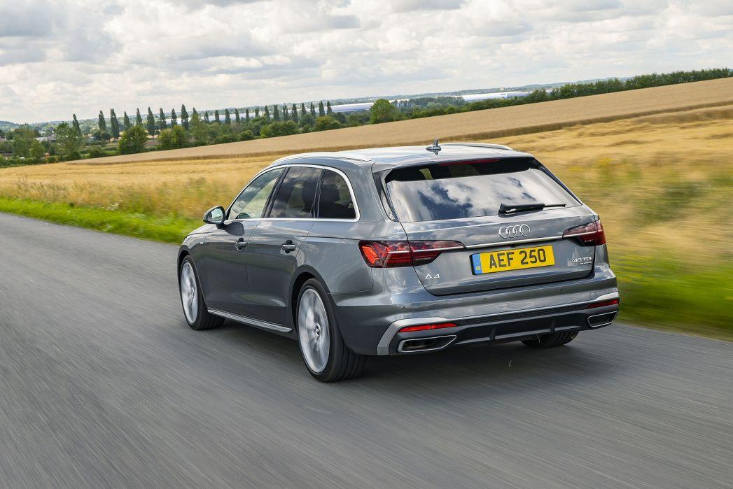 Image 4: Audi A4 Avant 40 Tfsi 204 Black Edition 5dr S Tronic [C+S]