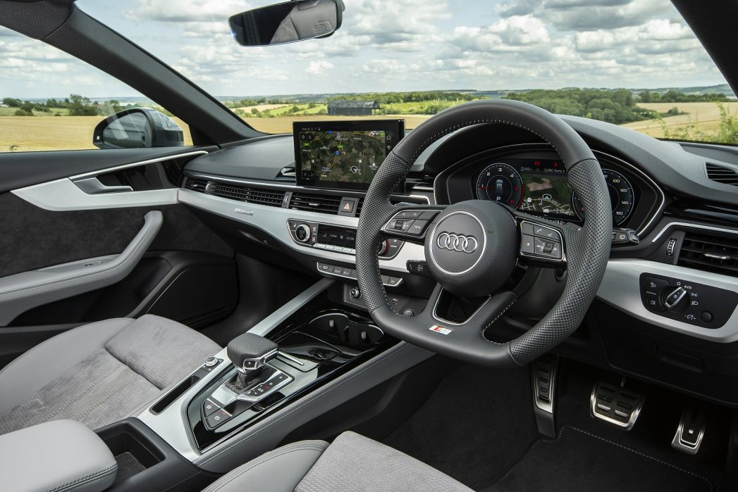 Image 6: Audi A4 Avant 40 Tfsi 204 Black Edition 5dr S Tronic [C+S]