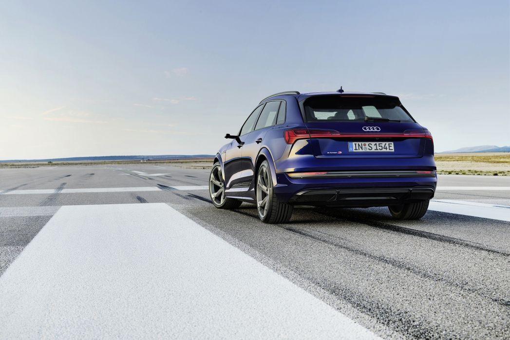 Image 5: Audi E-Tron Estate 230KW 50 Quattro 71KWH Vorsprung 5dr Auto