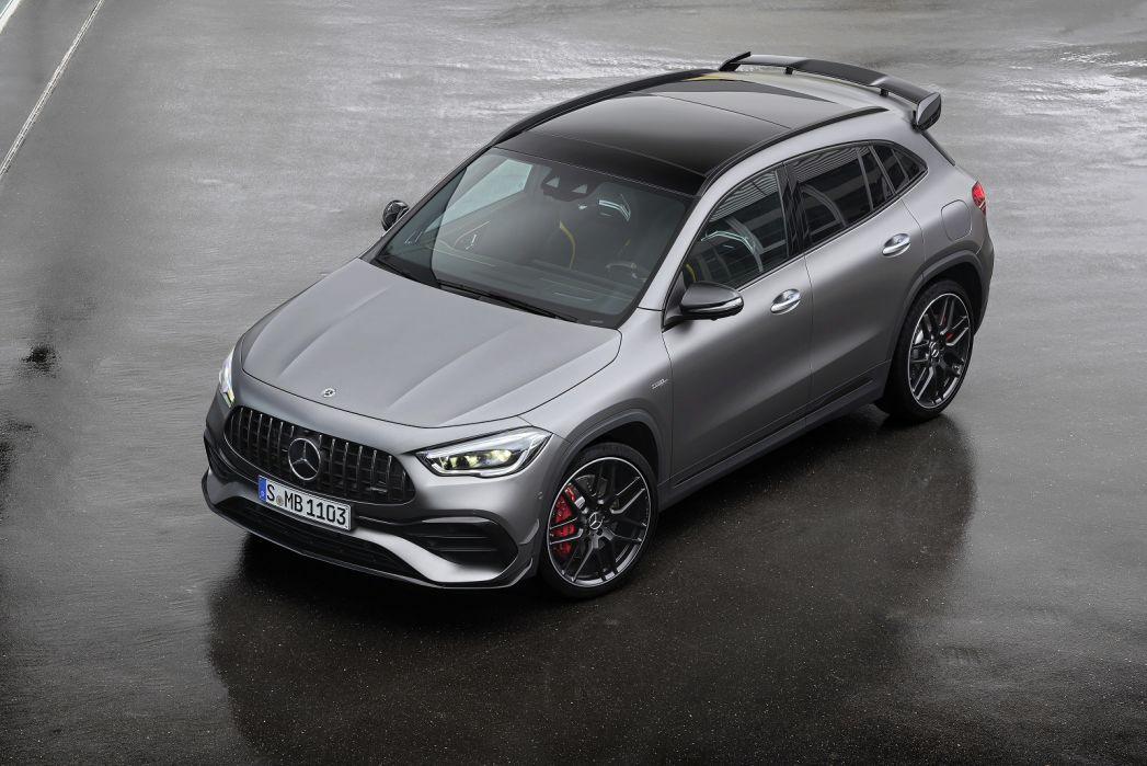 Image 3: Mercedes-Benz GLA AMG Hatchback GLA 45 S 4matic+ Plus 5dr Auto