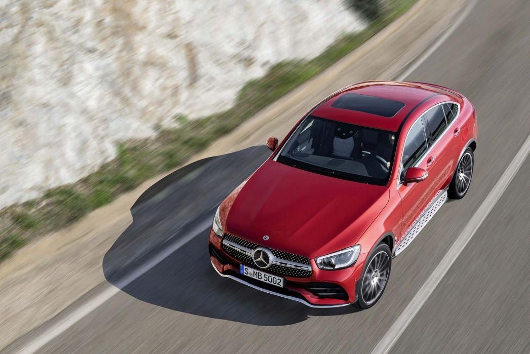 Image 4: Mercedes-Benz GLC Diesel Coupe GLC 220D 4matic AMG Line Prem Plus 5dr 9G-Tronic