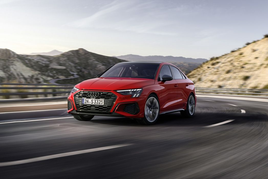 Image 3: Audi A3 Saloon S3 Tfsi Quattro 4dr S Tronic [comfort+sound]