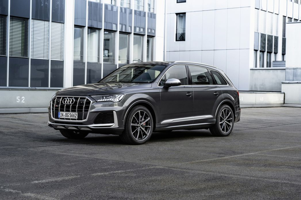 Image 1: Audi Q7 Estate SQ7 Tfsi Quattro Black Edition 5dr Tiptronic [C+S]