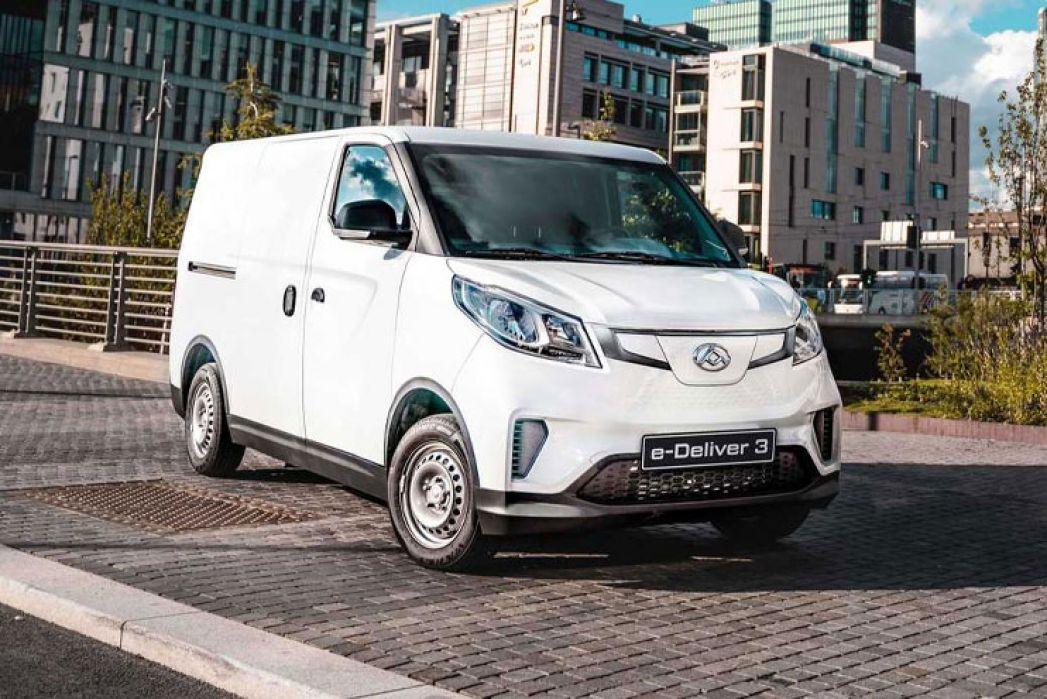 Image 1: Maxus E Deliver 3 L2 Electric 90KW H1 VAN 35KWH Auto