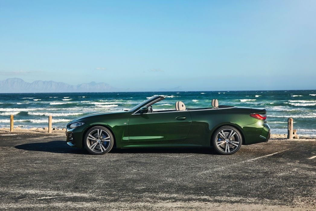 Image 1: BMW 4 Series Convertible 420I M Sport 2dr Step Auto [PRO Pack]