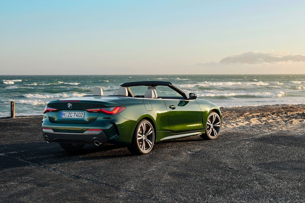 Image 2: BMW 4 Series Convertible 420I M Sport 2dr Step Auto [PRO Pack]