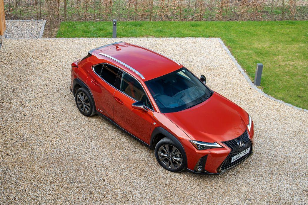 Image 2: Lexus UX Hatchback 250H 2.0 5dr CVT [premium Sport Edition/SUN]