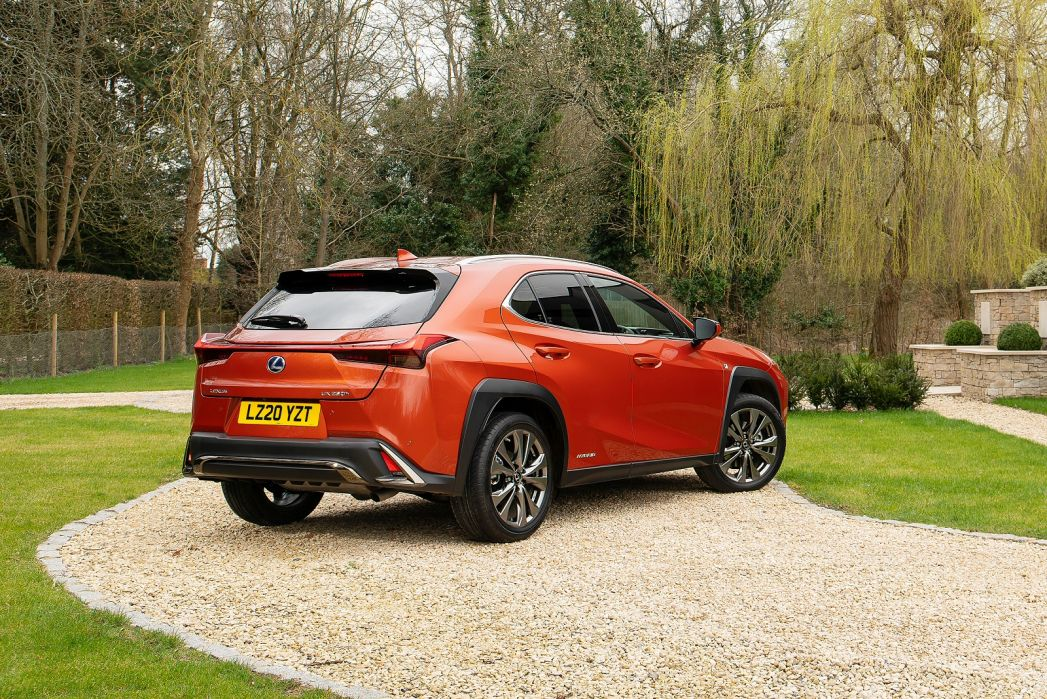 Image 3: Lexus UX Hatchback 250H 2.0 5dr CVT [premium Sport Edition/SUN]