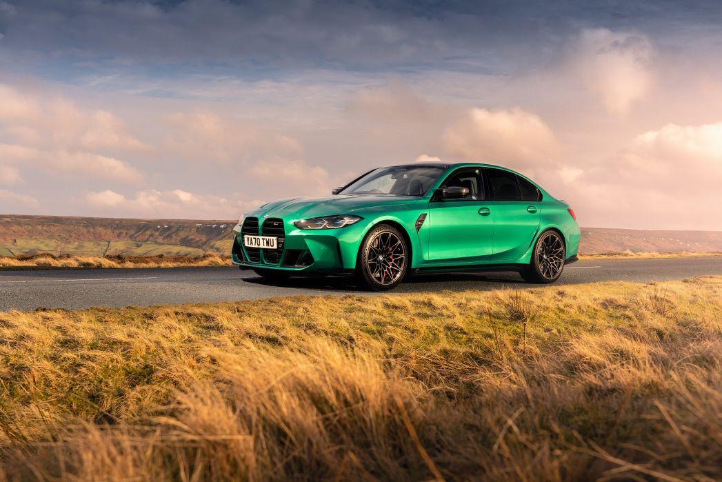 Image 1: BMW M3 Saloon M3 Xdrive Comp M 4dr Step Auto [M PRO/M Carbon]