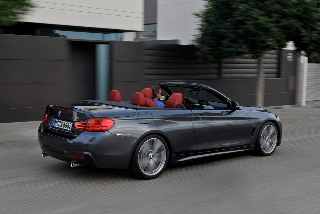 Image 2: BMW 4 Series Convertible 420I Sport 2dr Auto [professional Media]