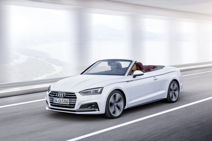 Image 3: Audi A5 Diesel Cabriolet 40 TDI S Line 2dr S Tronic