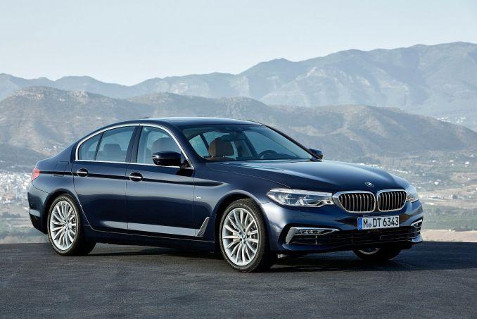 Image 2: BMW 5 Series Saloon 530E M Sport 4dr Auto