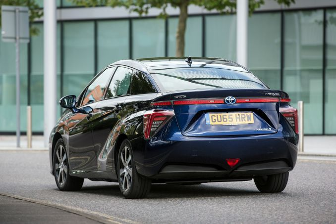 Image 3: Toyota Mirai Saloon Hydrogen Fuel Cell 4dr CVT