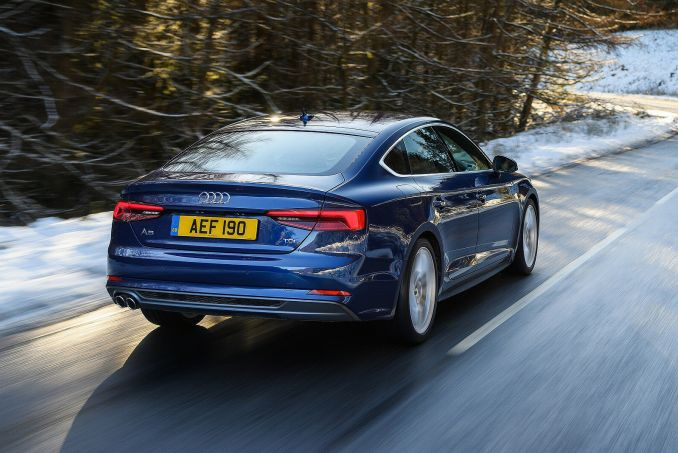 Image 5: Audi A5 Sportback 40 Tfsi Black Edition 5dr [tech Pack]