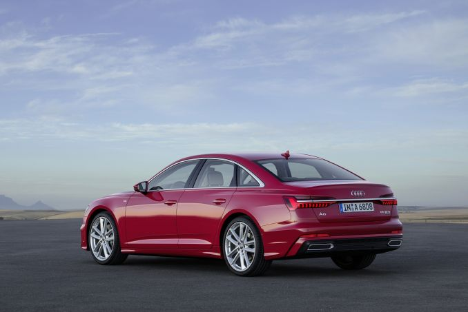 Video Review: Audi A6 Saloon 55 Tfsi Quattro S Line 4dr S Tronic [tech Pack]