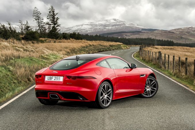 Jaguar F Type Coupe >> Jaguar F Type Coupe 3 0 Supercharged V6 2dr