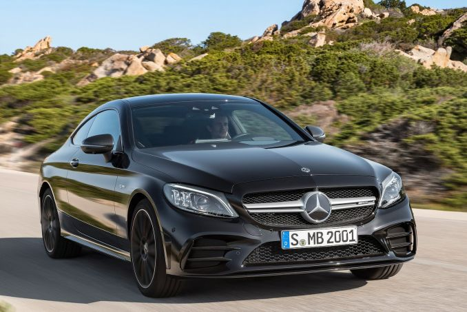Video Review: Mercedes-Benz C Class Coupe C200 AMG Line Premium 2dr 9G-Tronic