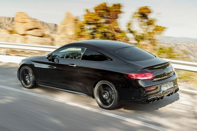 Image 4: Mercedes-Benz C Class Coupe C200 AMG Line 2dr 9G-Tronic