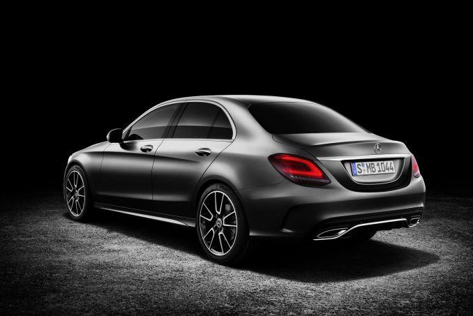 Image 2: Mercedes-Benz C Class Diesel Saloon C200d AMG Line Edition Premium 4dr Auto