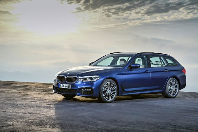 Video Review: BMW 5 Series Diesel Touring 520D M Sport 5dr Auto
