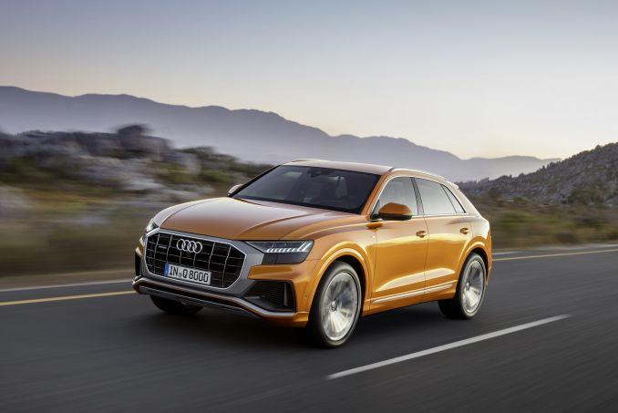 Image 3: Audi Q8 Estate 55 Tfsi Quattro S Line 5dr Tiptron [comfort+sound]